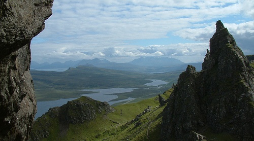 The Old Man of Storr auf der Isle of Skye flickr @Paul Albertella CC-Lizenz