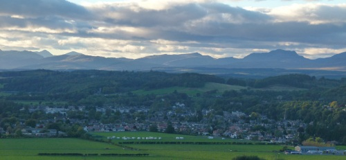 Wallace Monument - Blick auf Stirling @schottlandrundreise