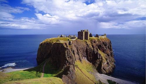 Dunnottar Castle bei Stonehaven in Schottland flickr (c) longfellowelizabeth