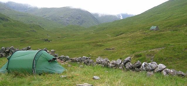 Camping in Schottland flickr (C) Lhoon CC-Lizenz