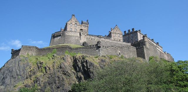 Edinburgh Castle flickr (c) Bernt Rostad CC-Lizenz